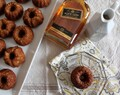 Mini Banana Bundt Cakes w/ Maple-Whiskey Glaze
