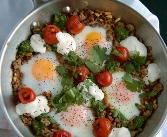 Braised Eggs with Pork