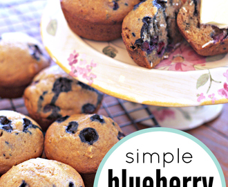 Simple Blueberry Muffin Recipe