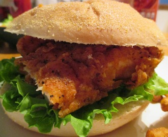 Wendy's Spicy Chicken Sandwich Copycat Recipe