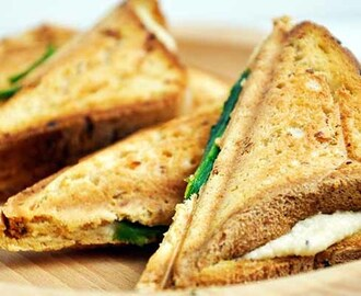 Gluten-Free Grilled Vegan Cheese Sandwich – with vegan cheese that actually melts!