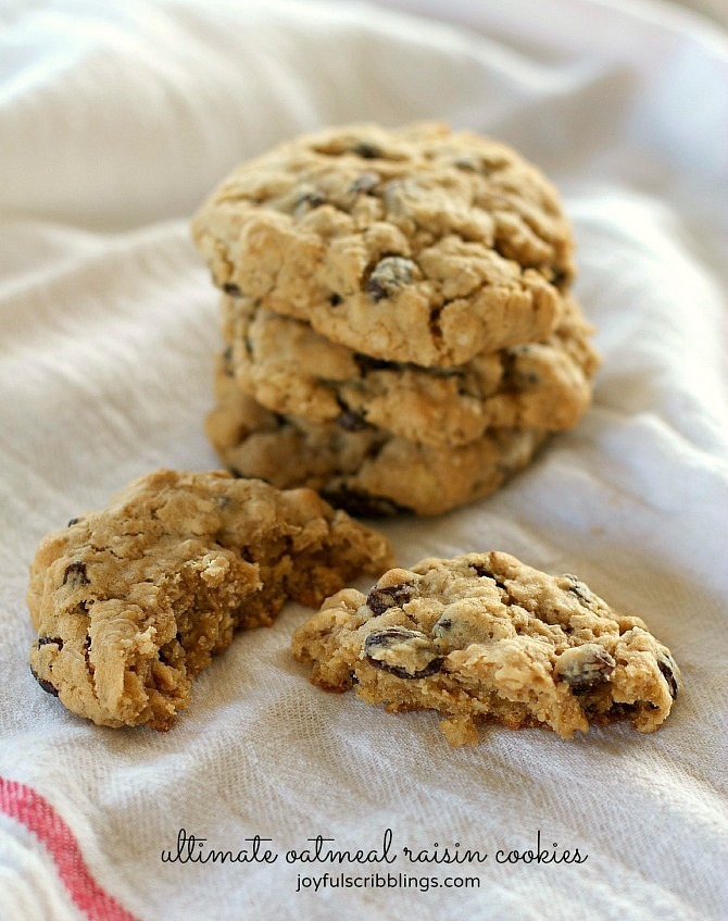 The Ultimate Oatmeal Raisin Cookies