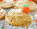 Pumpkin cupcakes with caramel frosting recipe