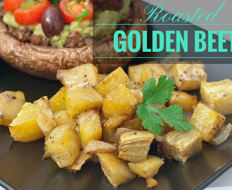 Roasted Golden Beets