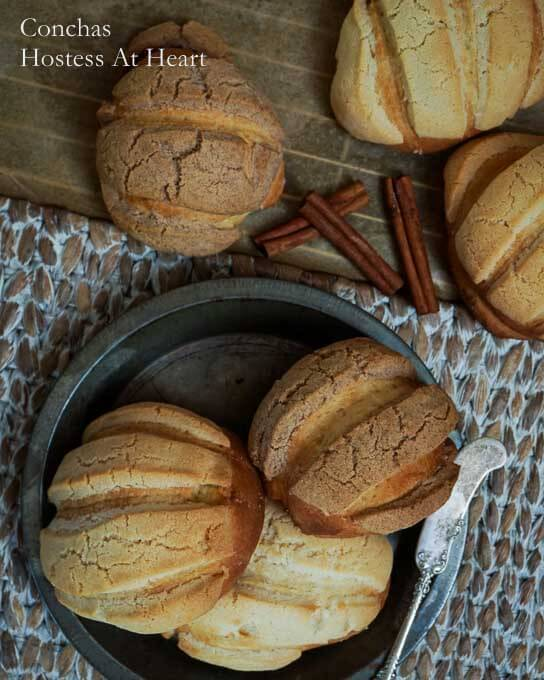 Conchas (Mexican Sweet Bread)- #TwelveLoaves