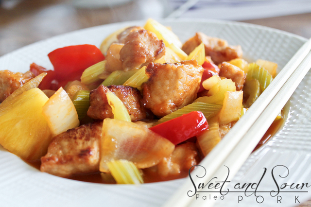 Paleo Sweet and Sour Pork
