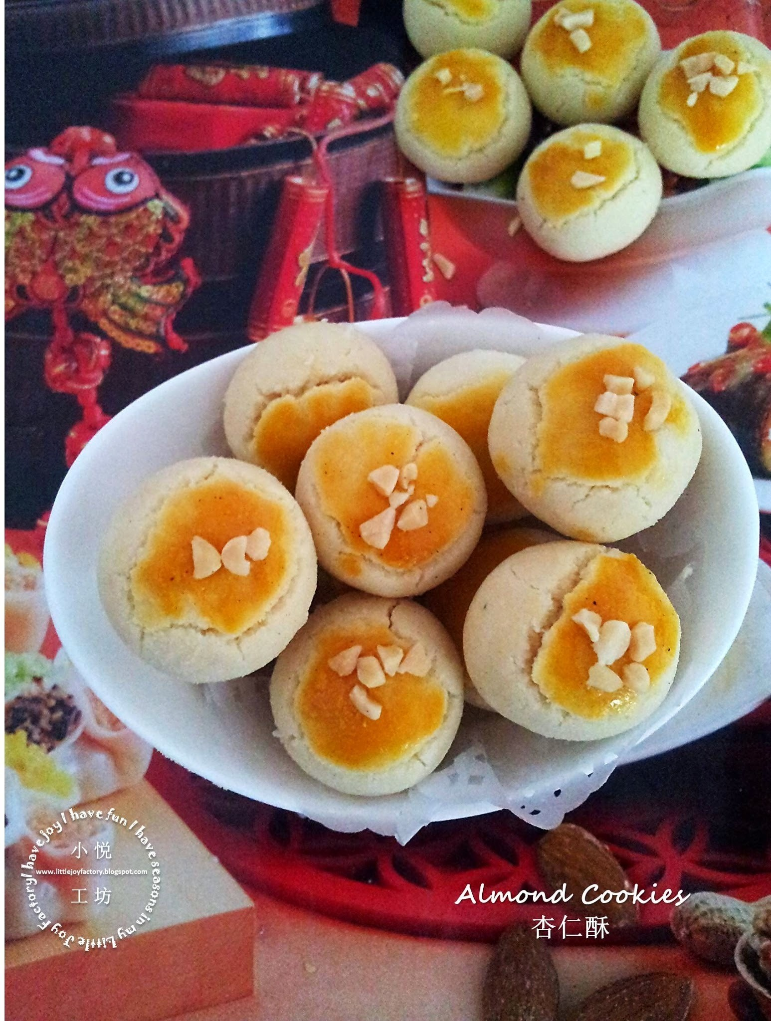 2015 Most Popular Almond Cookies 备受瞩目的杏仁酥2015