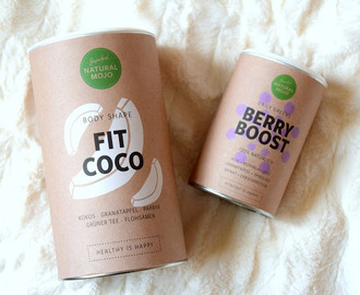 Recenzja Fit Coco i Berry Boost od Natural Mojo :)