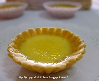 My First Attempt - Egg Tarts (蛋挞)