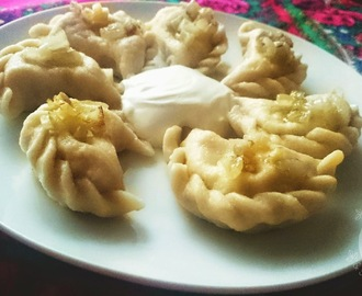 Pierogi with cottage cheese & potato filling (Polish dumplings)