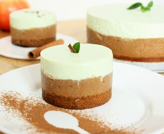 No-Bake Apple Mousse and Ricotta Cake