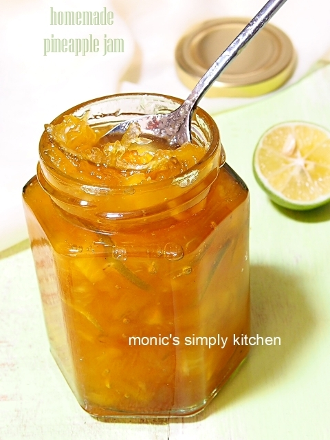 Homemade Pineapple Jam (Selai Nanas)