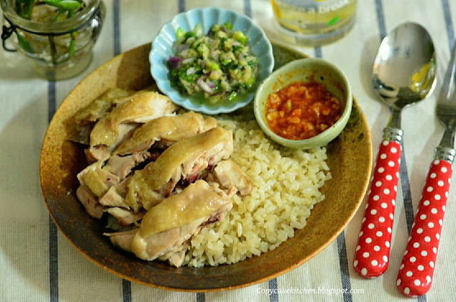 Hainanese Chicken Rice 海南鸡饭