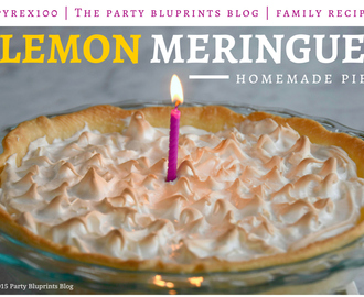 Lemon Meringue Pie Family Recipe – Pyrex 100th Anniversary! #Pyrex100