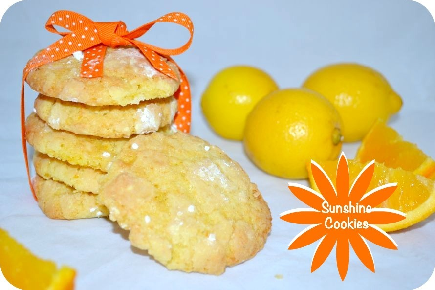Sunshine Cookies – Bake of the Week
