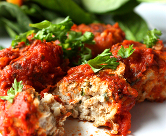 Turkey Marinara Meatballs