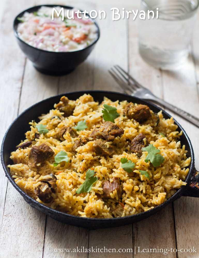 Mutton Biryani | How to make Mutton Briyani step by step | Sunday Special Recipes