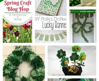 Spring Craft Blog Hop 2 – St. Patrick's Day Highlights