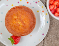 Tuesdays with Dorie (Baking Chez Moi): Double-Corn Tea Cake