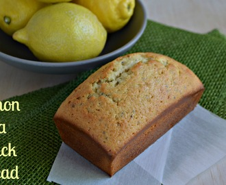 Lemon Chia Quick Bread #BreadBakers