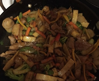 Take a Turn at Teriyaki Pork Stir Fry