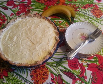My Grandmother's Favorite Banana Cream Pie (Made Gluten Free!)