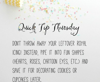 Quick Tip Thursday #4!