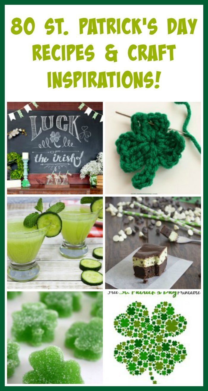 80 St. Patrick's Day Crafts and Recipes