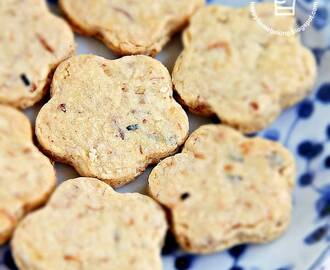 Pork Floss and Sesame Seeds Cookies