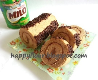 Milo Chocolate Roll