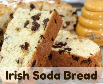 Irish Soda Bread Recipe {St.Patrick's Day}