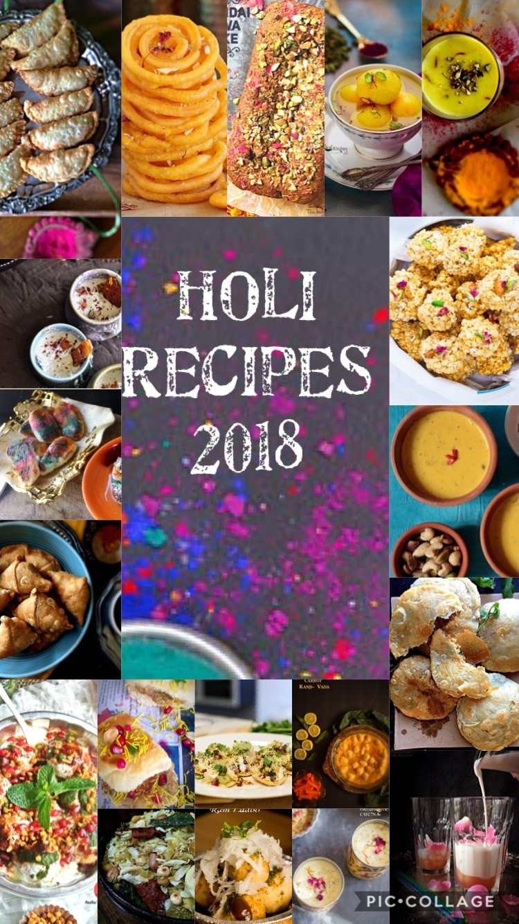 Holi Recipes 2018