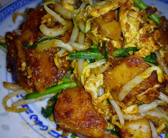 CHAR KOAY KAK [FRIED STEAMED RICE CAKE]