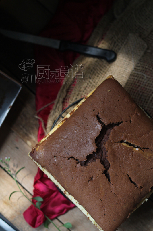 巧克力乳酪牛油蛋糕 (Butter Chocolate Cheese Cake)