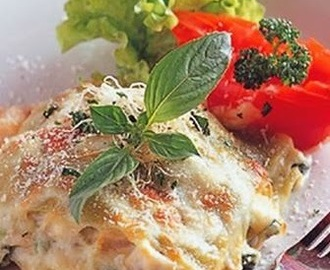 Seafood Cheese Lasagna