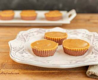 Chocolate Peanut Butter Mini Cheesecakes