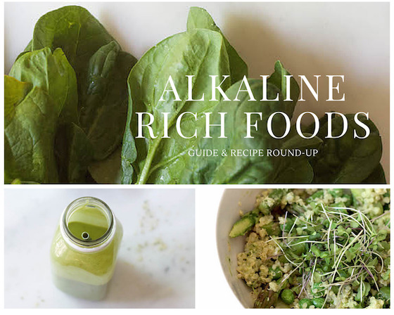 Alkaline Rich Foods: Guide & Recipe Round-Up