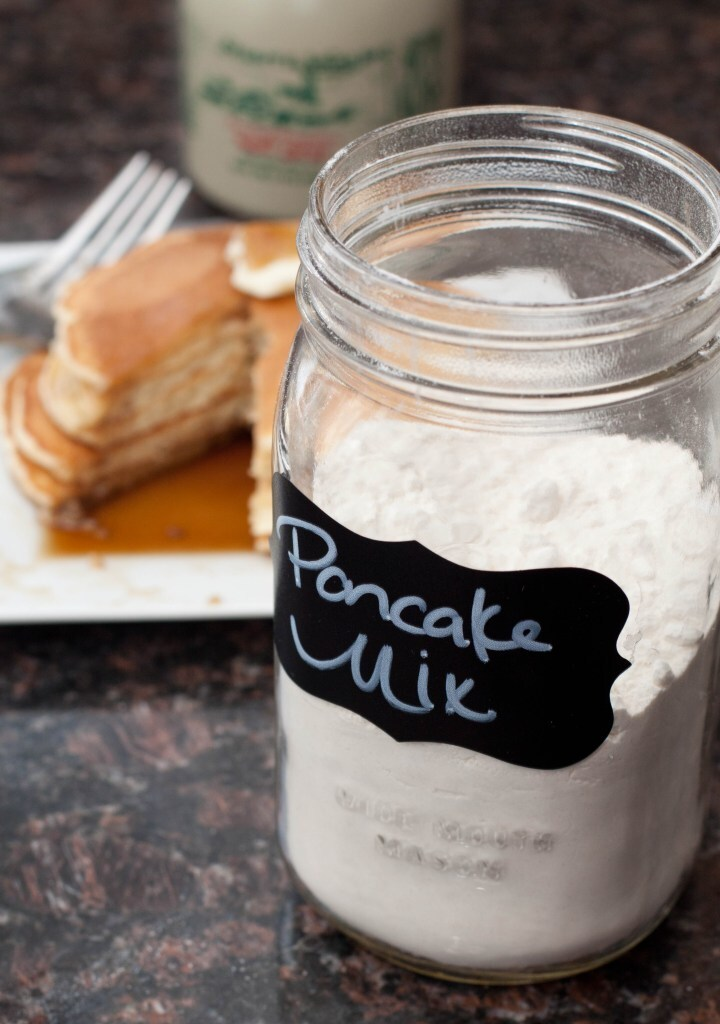 Homemade Pancake Mix From Scratch
