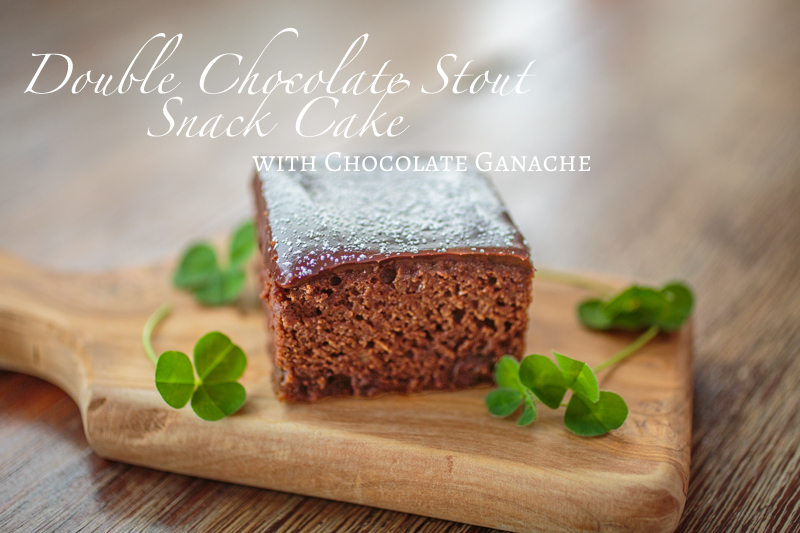 Chocolate Stout Snack Cake