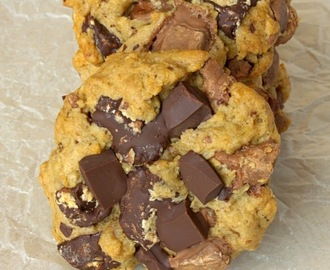 New Method Chocolate Chip Cookies