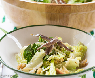 Classic Caesar Salad, with Anchovies