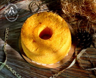 Golden Cheese Rice Flour Chiffon Cake 黄金芝士米粉戚风蛋糕 LTU #09
