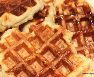 Sourdough Liege Waffles
