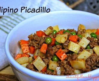 Filipino Picadillo