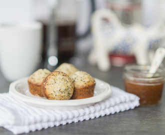 Poppy Seed Muffins & the perfect breakfast