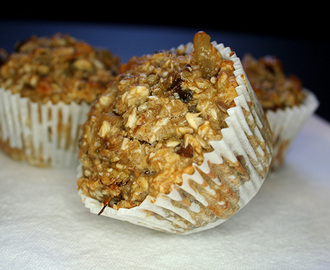 Oatmeal muffins healthy recipe