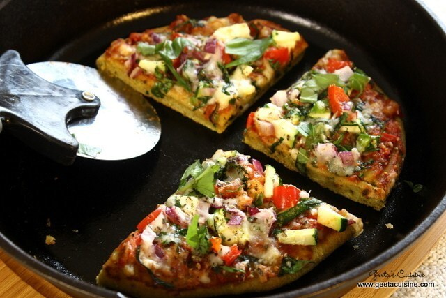 Veg Wheat Pizza
