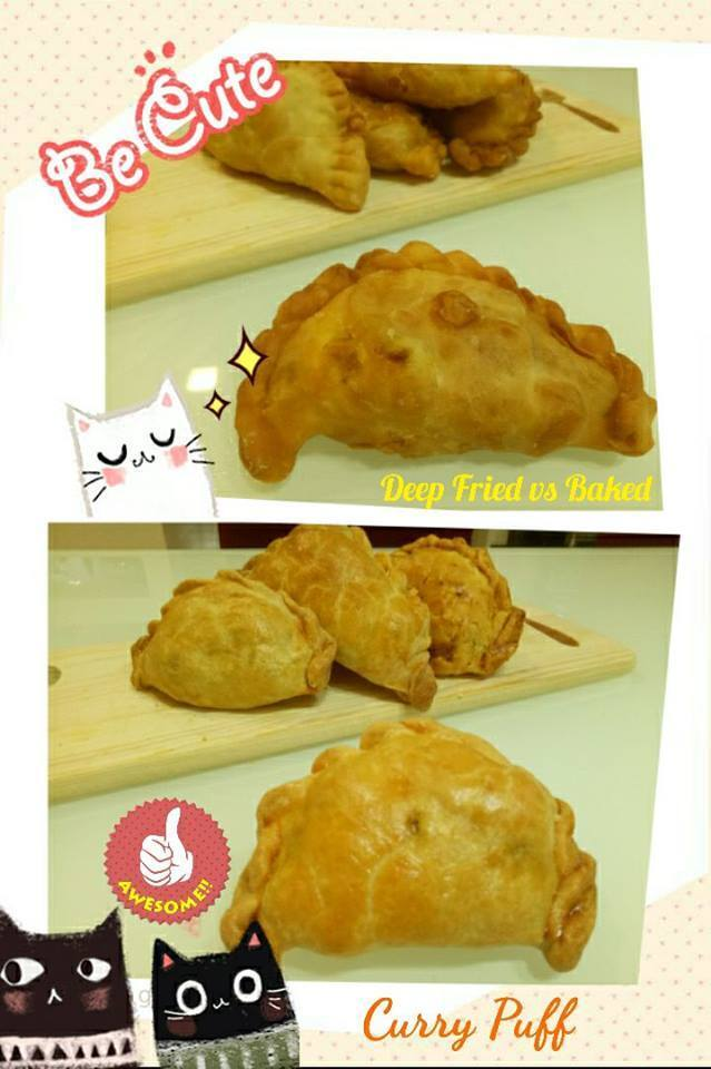 Curry Puffs-Baked/Fried