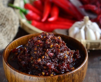 椰香叁巴辣椒酱 Sambal Tumis with Coconut Oil