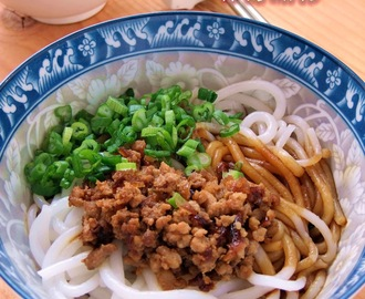 Gon Loh Lai Fun (with gon loh minced meat)